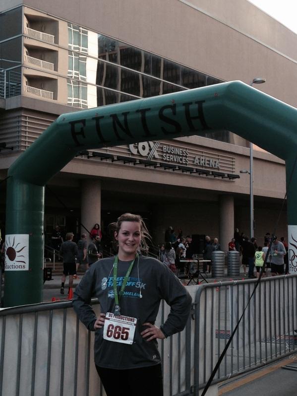 top 500 finishers got a medal - I felt cool